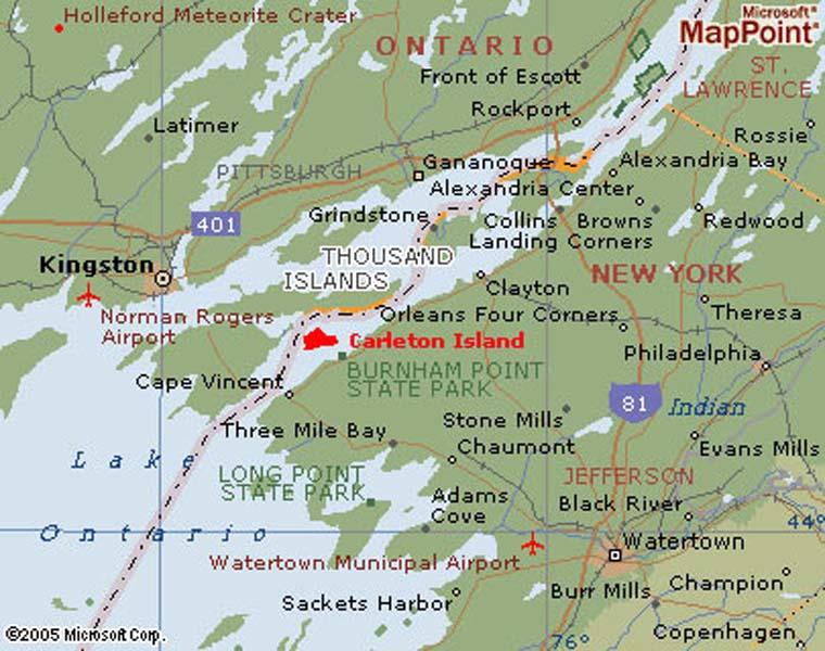 Thousand Islands Retreat Carleton Island Real Estate Cape ...